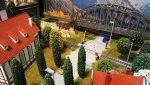 Plastico ferroviario Incendio e Ruota panoramica